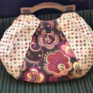 1154 Lill Studio Reversible Purse Handbag EUC
